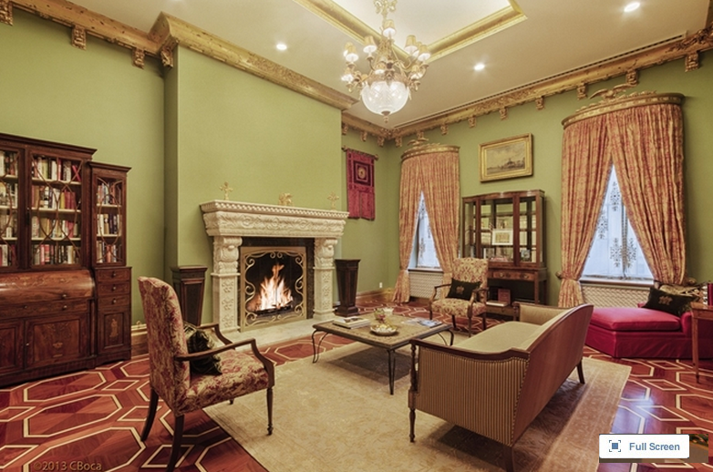Newly Listed 114 Million Opulent Townhouse In New York