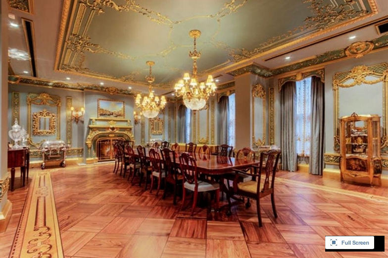 Newly Listed $114 Million Opulent Townhouse In New York, NY
