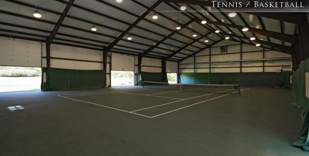 $4.5 Million Estate In Carmel, IN With Indoor Tennis Court Building