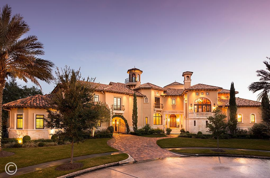 Exquisite 13 000 Square Foot Italian Inspired Mansion In
