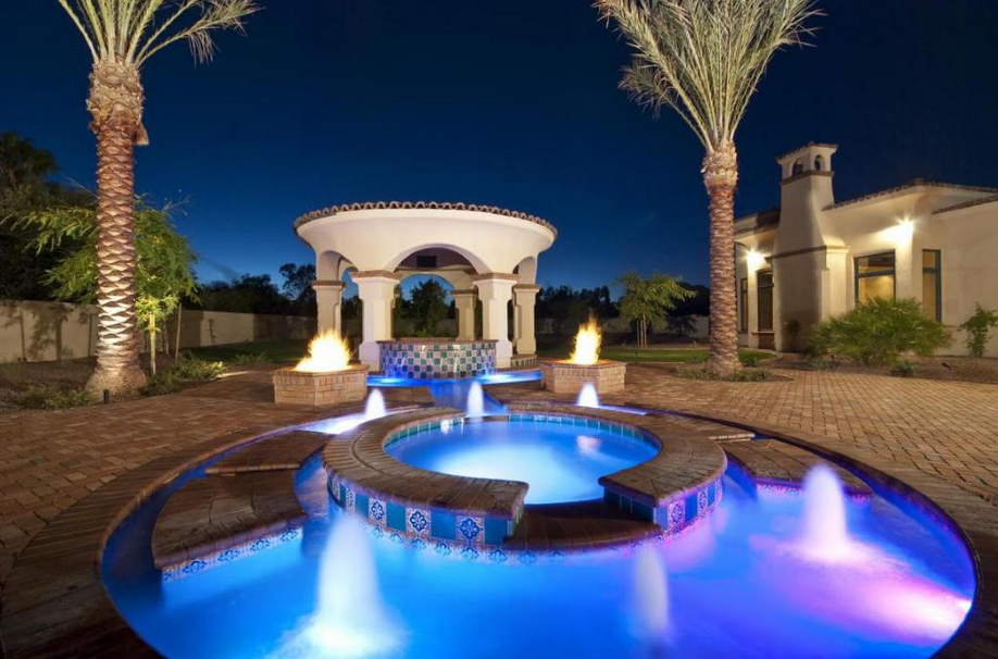 $4.7 Million Santa Barbara Style Mansion In Paradise Valley, AZ