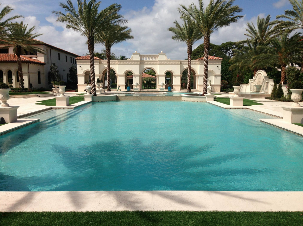 Newly Built Waterfront Mansion In Boca Raton Fl Homes