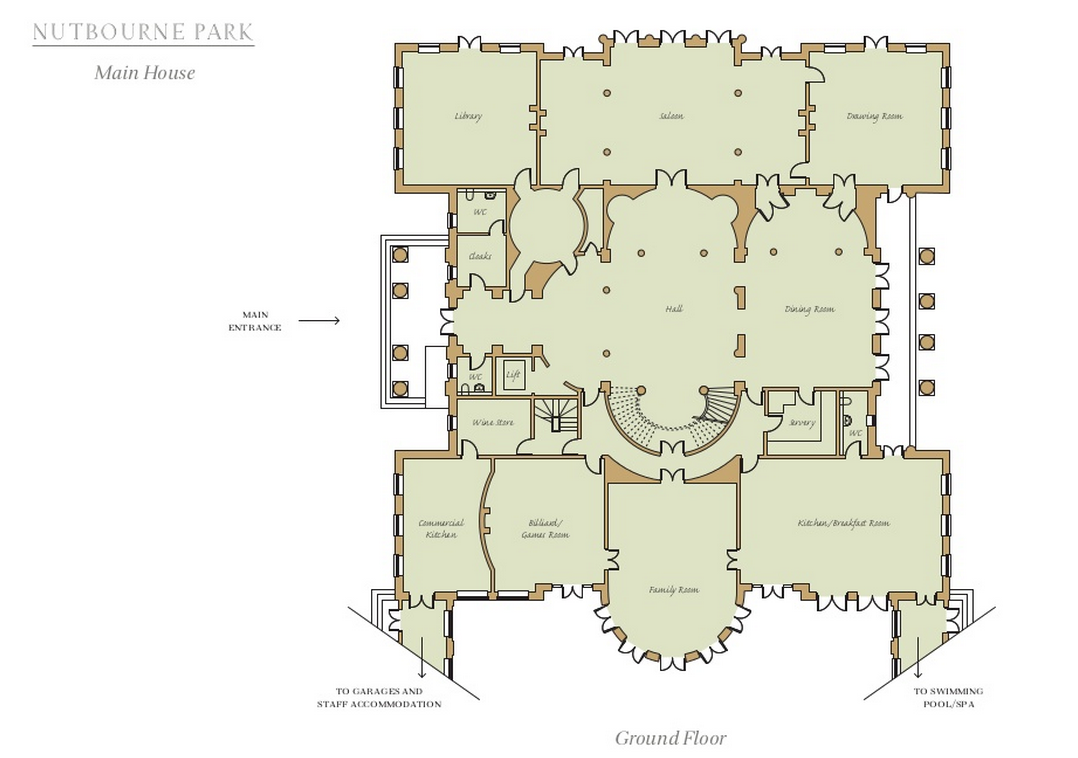 Homes Of The Rich Readers' Revised Floor Plans To