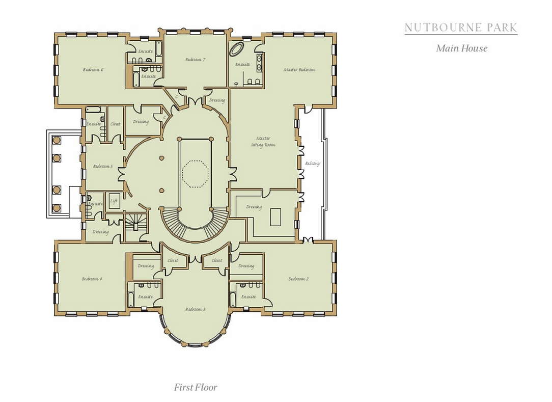 Floor plans homes of the rich for Rich house plans