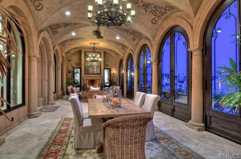 10 9 Million Mediterranean Waterfront Mansion In Long