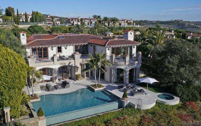 $13.995 Million Newly Listed Mediterranean Mansion In Newport Coast, CA