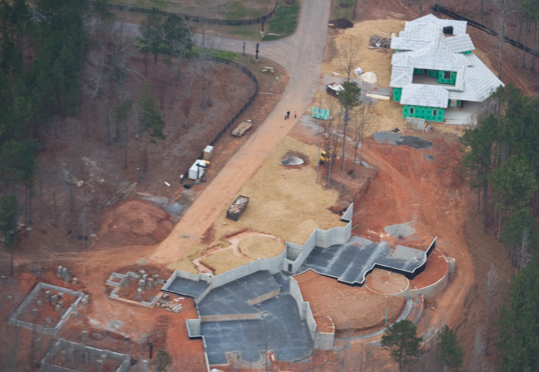 31,000 Square Foot Newly Built Equestrian Estate In Alpharetta, GA