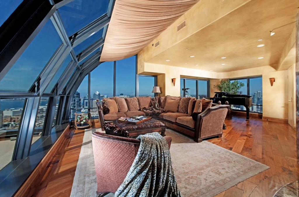 Cars For Sale San Diego >> $9.975 Million Penthouse In San Diego, CA | Homes of the Rich – The #1 Real Estate Blog