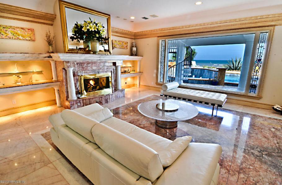 6 25 Million Oceanfront Mansion In Ponte Vedra Beach Fl
