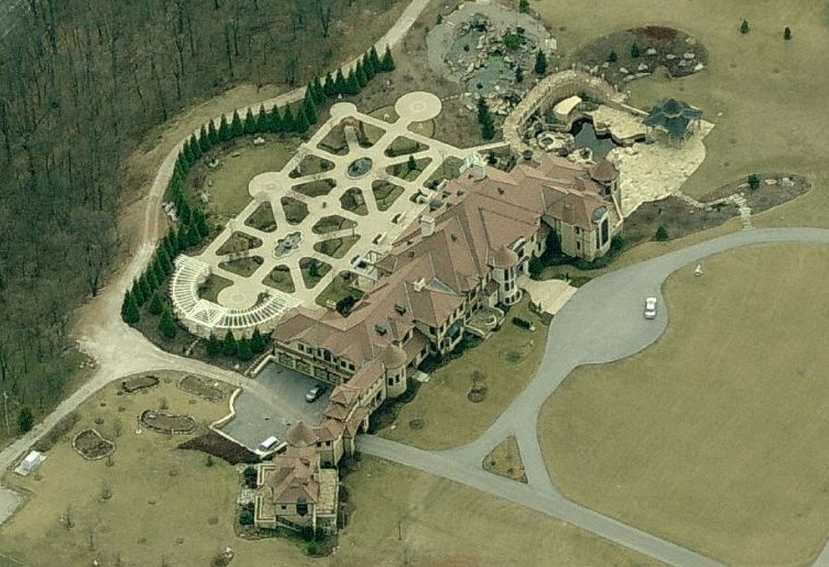 32,000 Square Foot Mega Mansion In New Oxford, PA