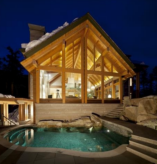 $12.9 Million Mountaintop Chalet In Whistler, Canada