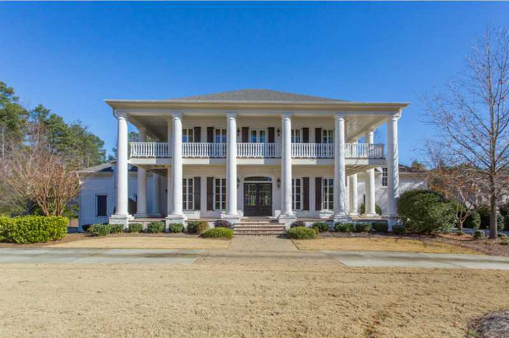 10 000 Square Foot Plantation Style Mansion In Suwanee Ga