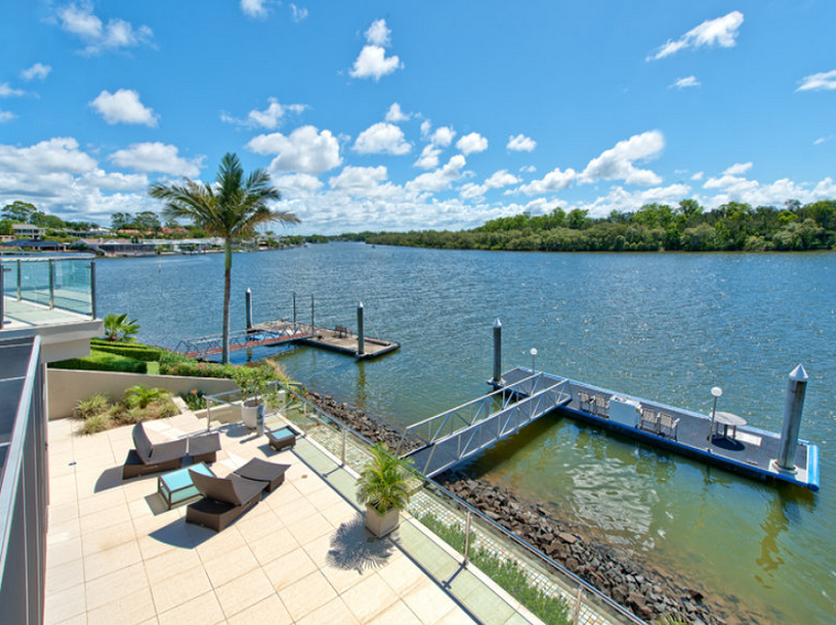 14,000 Square Foot Contemporary Waterfront Mansion In Queensland, AU