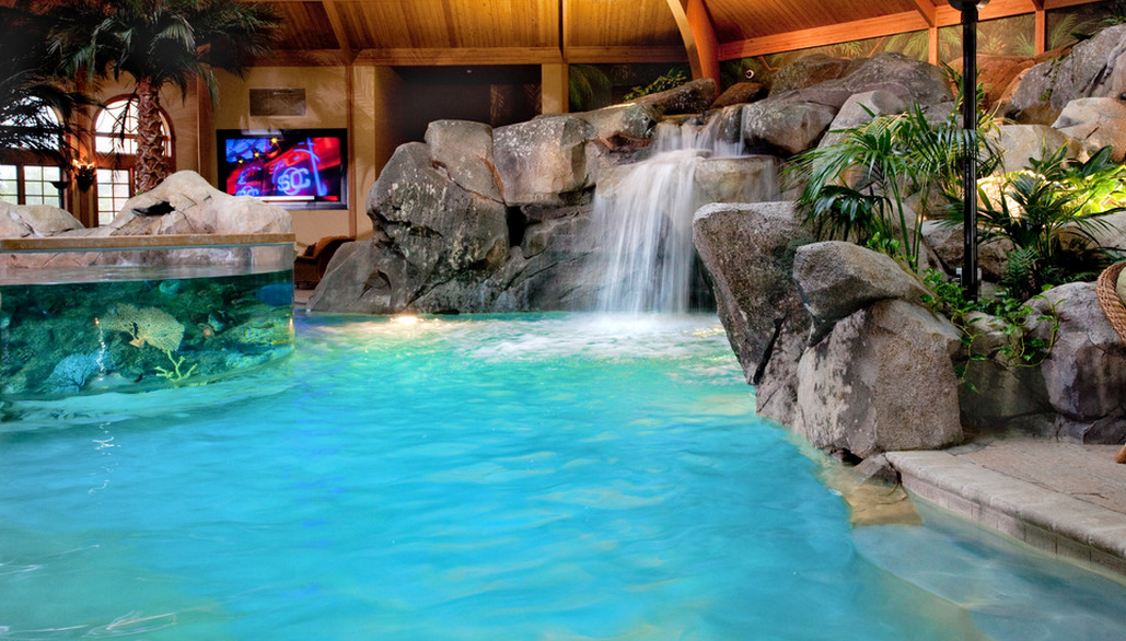 A Look At Two Indoor Swimming Pools By Shehan
