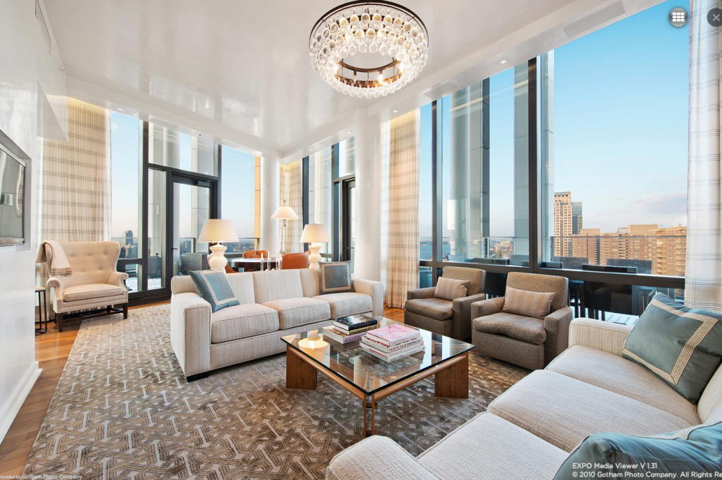 Million newly listed condo in tribeca homes of for Million dollar apartments nyc