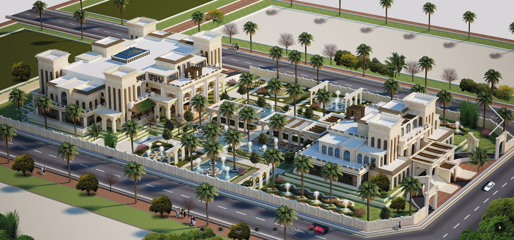 Two Amazing Qatar Palaces Homes Of The Rich
