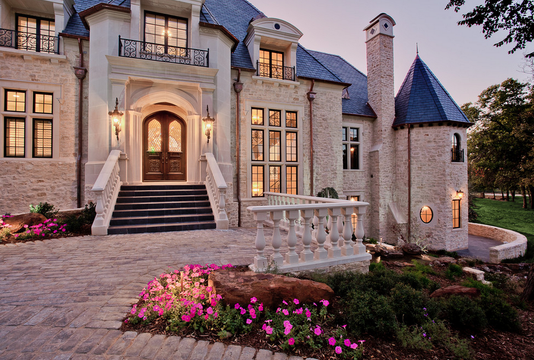 Beautiful Stone Mansion In Westlake Tx Homes Of The Rich