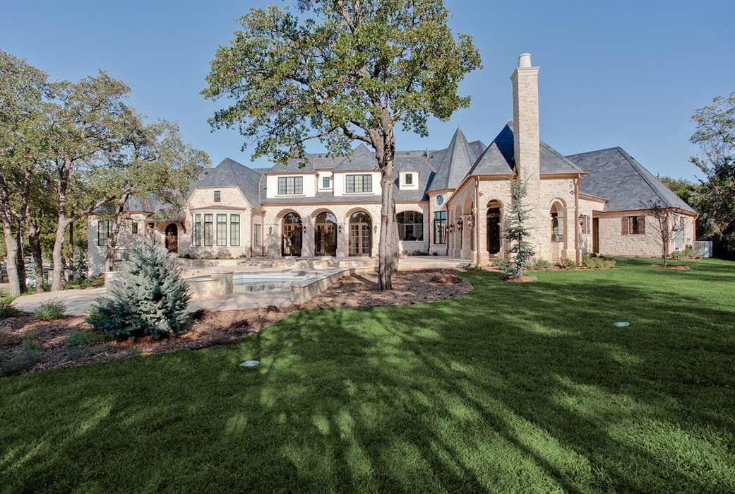 Beautiful Stone Mansion In Westlake, TX