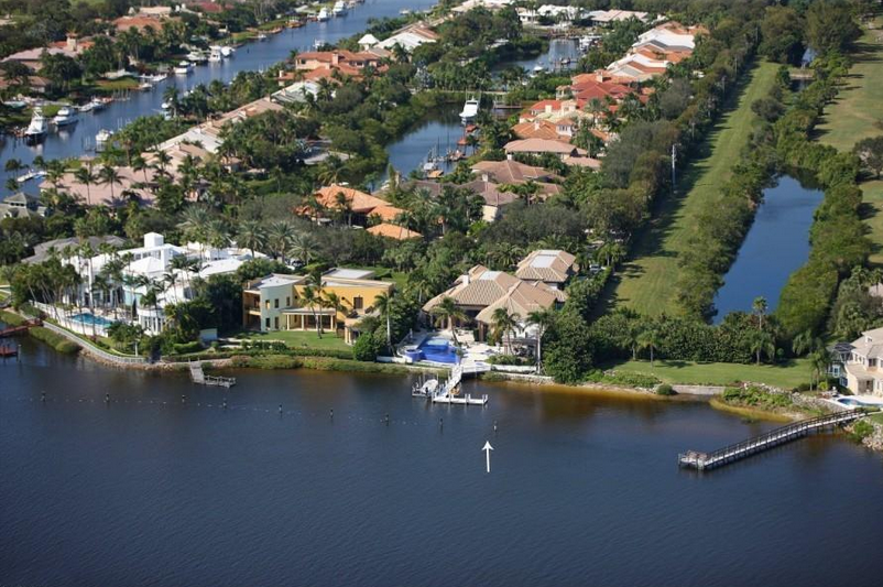 $14 Million Newly Listed Waterfront Mansion In Jupiter, FL