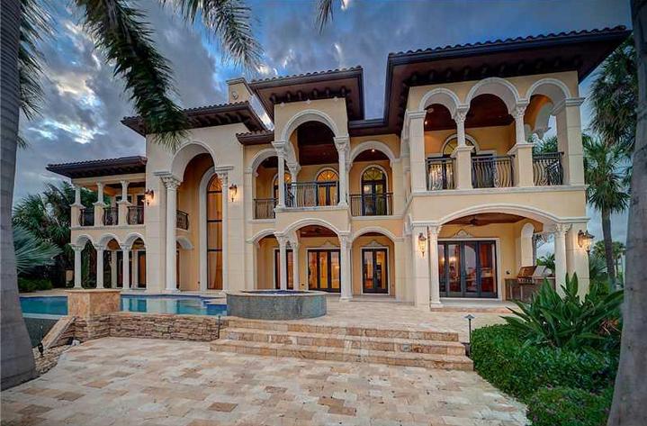 $4.95 Million Mediterranean Waterfront Home In Fort Lauderdale, FL