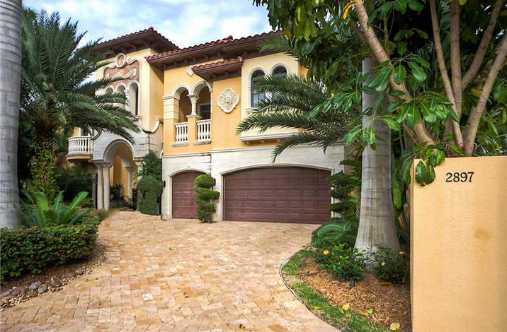 Million Mediterranean Waterfront Home In Fort Lauderdale FL - Before and after from a mediterranean house fort lauderdale