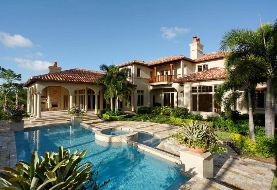 Two 8,400 Square Foot Mansions In Jupiter, FL
