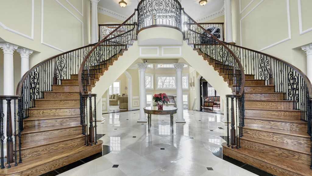 Picture of: Luxury Stairs Gallery Nice Double Curved