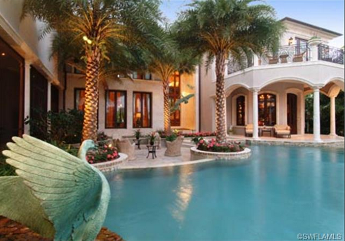 $8.9 Million Newly Listed Mansion In Naples, FL