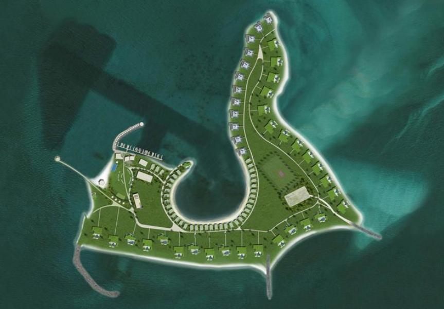 17,000 Square Foot Mansion On Nurai Island In UAE