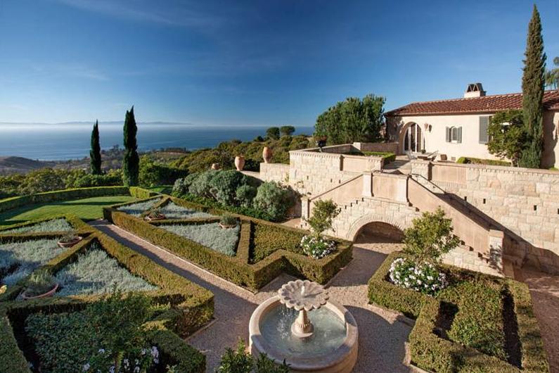 Gorgeous $17.75 Million Tuscan Estate In Montecito, CA