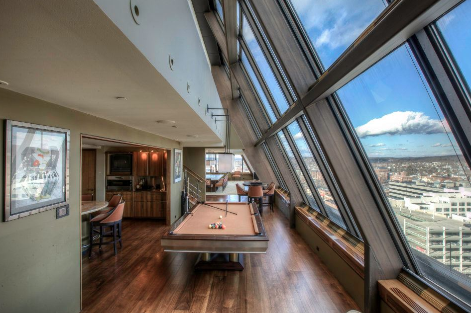 12 000 Square Foot Penthouse In Manchester Nh Homes Of