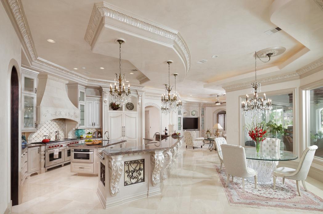 Lavish Newly Built Mediterranean Mansion In The Woodlands