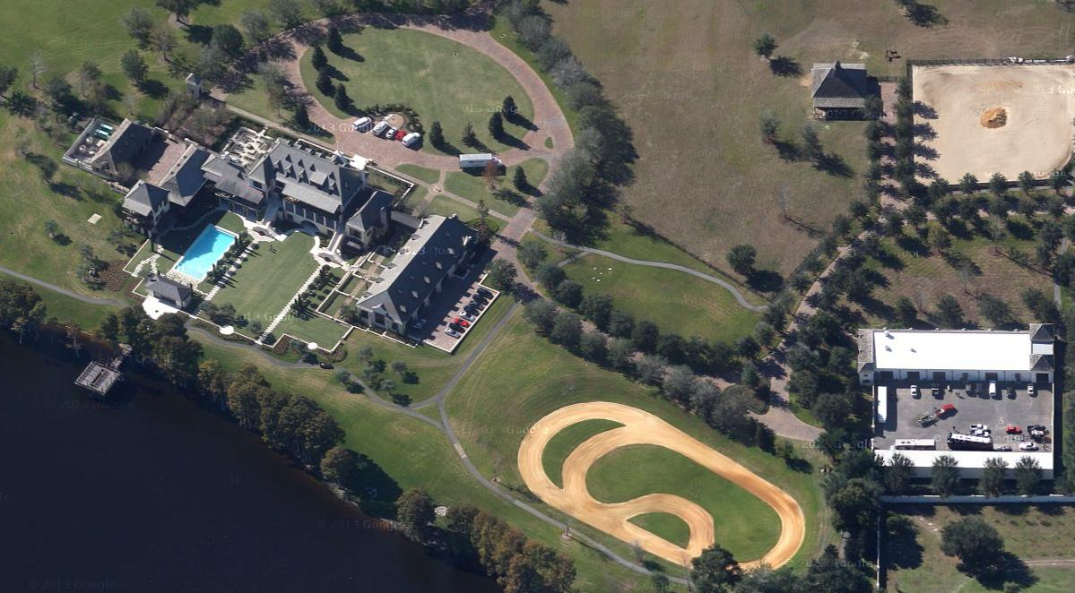 A Look Inside An RV Mogul's 40,000 Square Foot Florida Estate