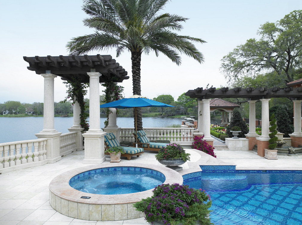 Lavish Mediterranean Mansion In Tampa, FL