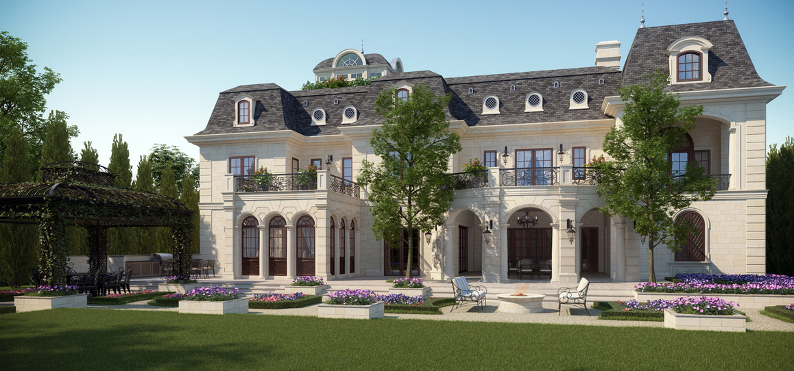 Mansion Renderings From Cg Rendering Homes Of The Rich