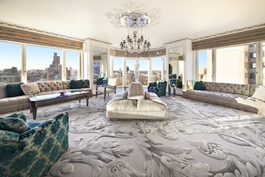 Gorgeous 9 8 Million Penthouse In New York Ny Homes Of