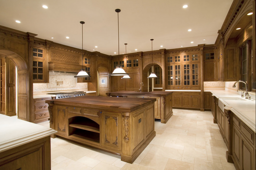 a look at some kitchens with double islands