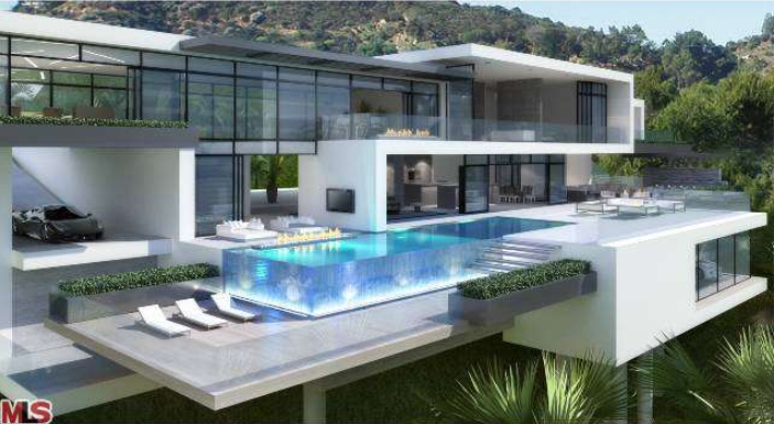 proposed 30 000 square foot modern estate in los angeles