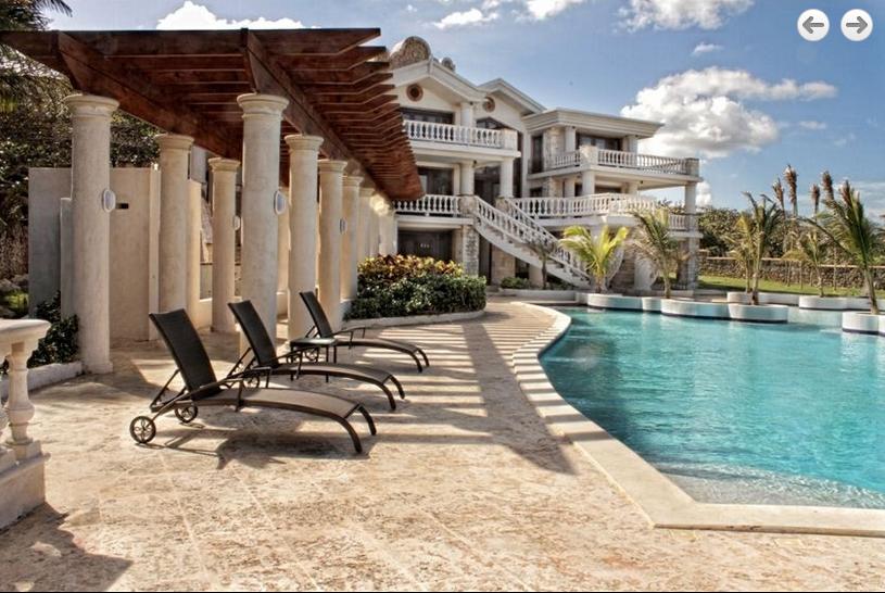 Villa Castillo del Mar In The Dominican Republic