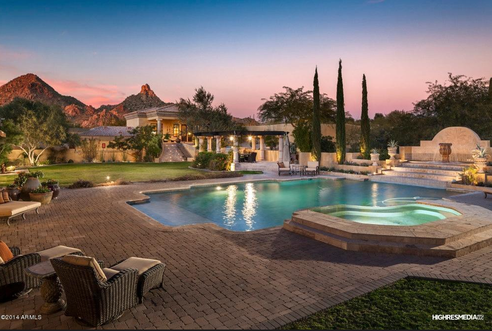$5.1 Million Santa Barbara Style Estate In Scottsdale, AZ