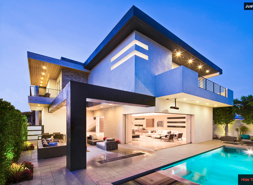 Newly built contemporary home in los angeles ca homes for Modern house design los angeles
