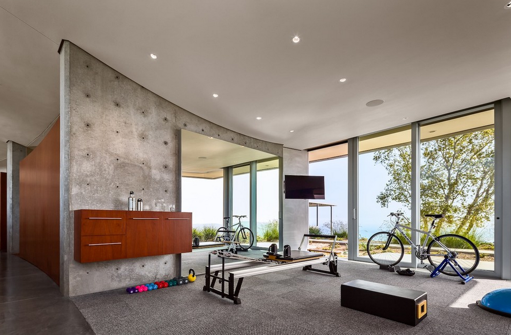 A Look At Some Home Gyms From Houzz.com