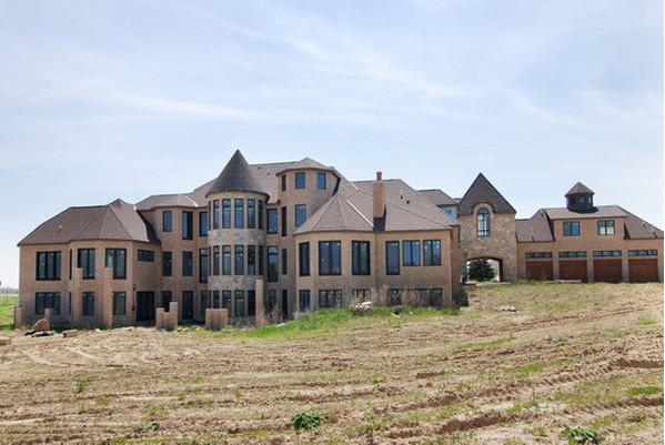Unfinished French Country Mansion In Valparaiso Indiana
