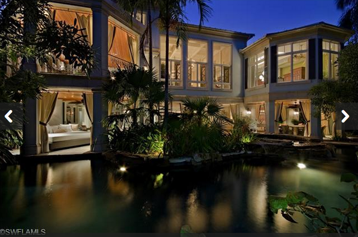 $13.9 Million Waterfront Compound In Naples, FL