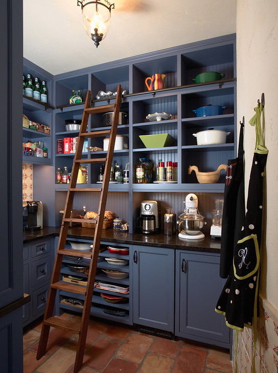A Look At Some Walk-In Pantries From Houzz.com