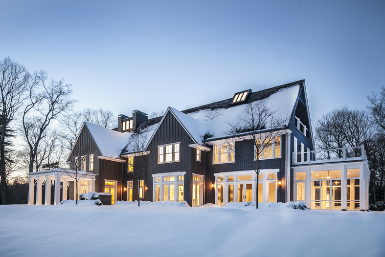 $11.995 Million Newly Built Mansion In Greenwich, CT