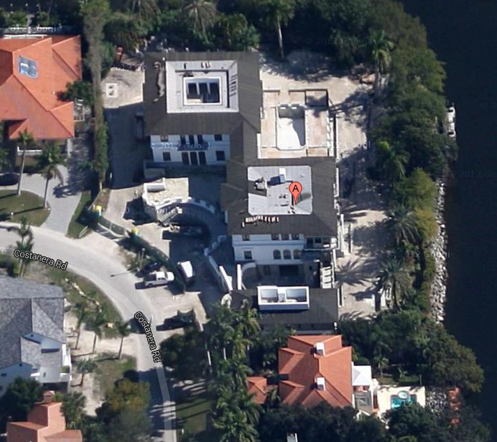 $18 Million Waterfront Mansion Under Construction In Coral Gables, FL
