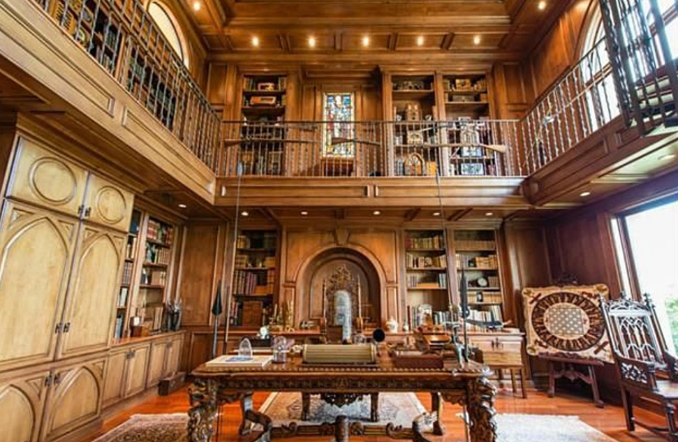 Two Austin Tx Mansions With 2 Story Libraries on Paris Penthouses Floor Plan