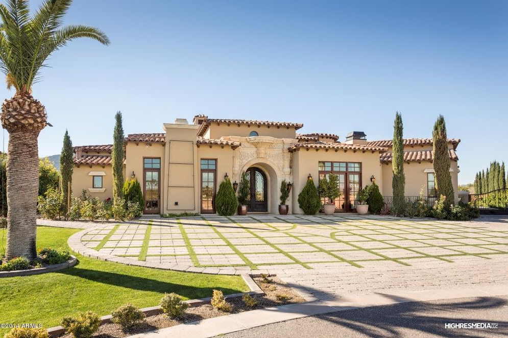 Million Santa Barbara Style Mansion In Paradise