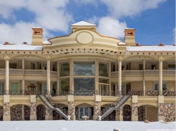 Updated pictures of a 50 000 square foot utah mega mansion for 50000 house